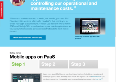 IBM-Cloud-Website-Mobile-Apps-on-PaaS