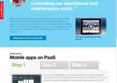 IBM-Cloud-Website-Mobile-Apps-on-PaaS